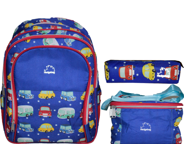 HEDGEBAG HB160E İLK OKUL SET- ARABA