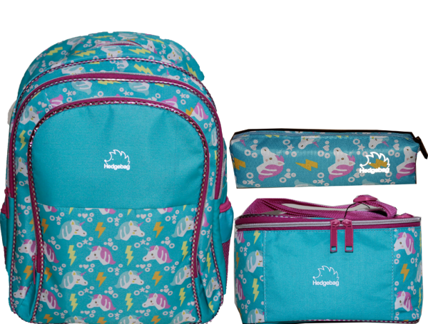 HEDGEBAG HB160K İLK OKUL SET- UNICORN